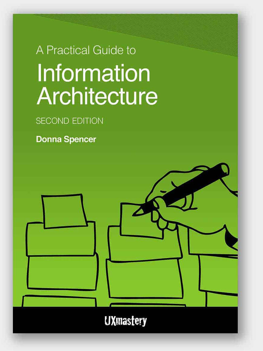 """Cover of the book """"A practical guide to information architecture"""""""